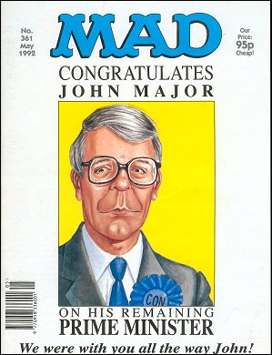 MAD Magazine #361 • Great Britain