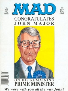Go to MAD Magazine #361 • Great Britain