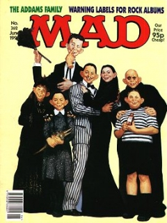 Go to MAD Magazine #362 • Great Britain