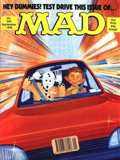 Go to MAD Magazine #365 • Great Britain