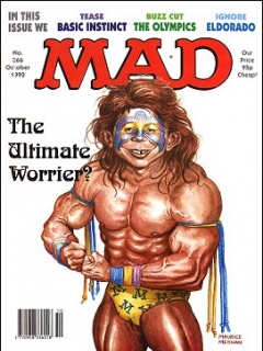 Go to MAD Magazine #366 • Great Britain