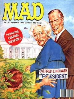 Go to MAD Magazine #367 • Great Britain