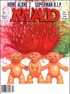 Go to MAD Magazine #371 • Great Britain