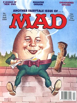 MAD Magazine #372 • Great Britain