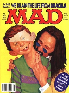 Go to MAD Magazine #373 • Great Britain