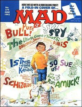MAD Magazine #374 • Great Britain
