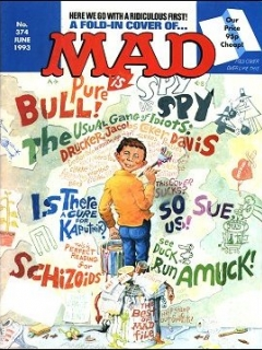 Go to MAD Magazine #374 • Great Britain