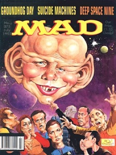Go to MAD Magazine #375 • Great Britain