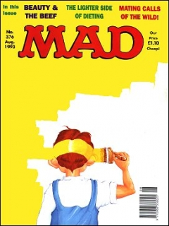 Go to MAD Magazine #376 • Great Britain