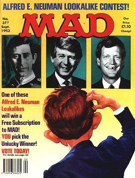 MAD Magazine #377 • Great Britain