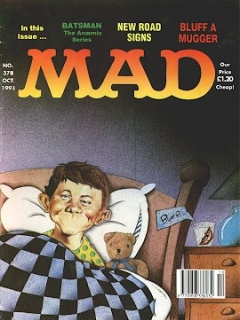 Go to MAD Magazine #378 • Great Britain