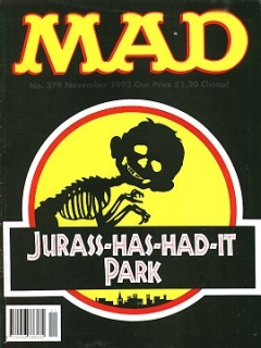 Go to MAD Magazine #379 • Great Britain