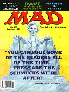MAD Magazine #380 • Great Britain