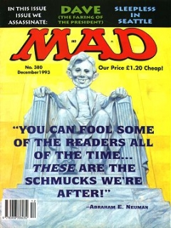 Go to MAD Magazine #380 • Great Britain