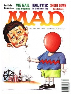 Go to MAD Magazine #381 • Great Britain