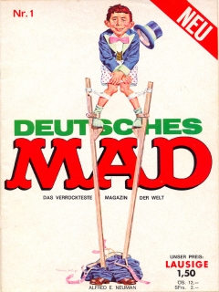 MAD Magazine #1 • Germany • 1st Edition - Williams