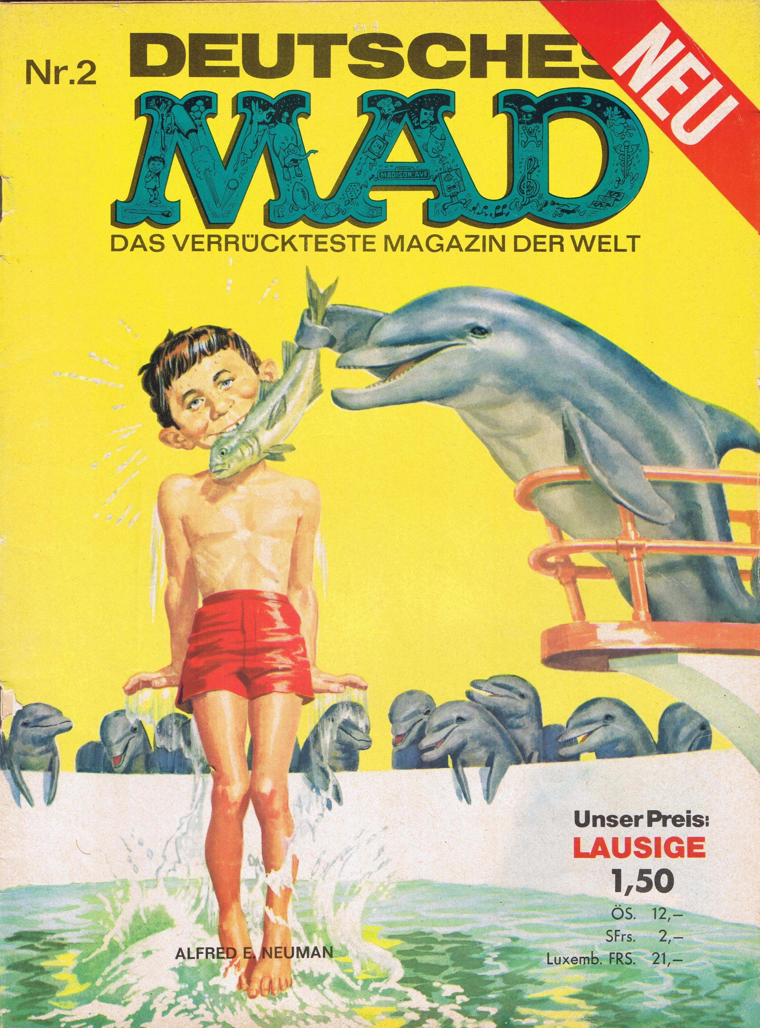MAD Magazine #2 • Germany • 1st Edition - Williams