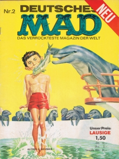 Go to MAD Magazine #2 • Germany • 1st Edition - Williams