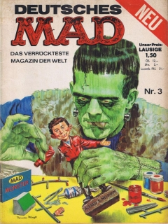 Go to MAD Magazine #3 • Germany • 1st Edition - Williams