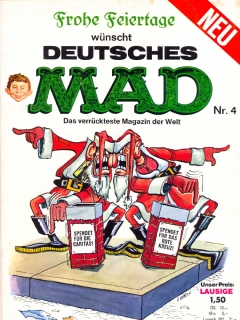 Go to MAD Magazine #4 • Germany • 1st Edition - Williams