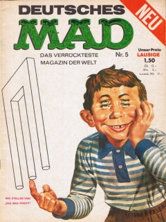 Go to MAD Magazine #5 • Germany • 1st Edition - Williams