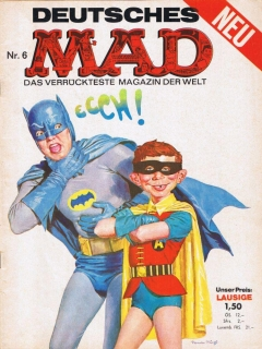 Go to MAD Magazine #6 • Germany • 1st Edition - Williams