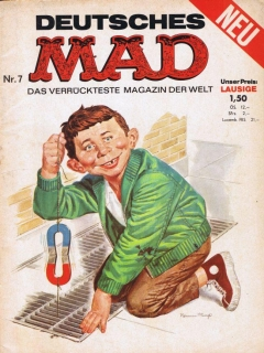 Go to MAD Magazine #7 • Germany • 1st Edition - Williams