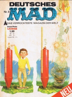 Go to MAD Magazine #9 • Germany • 1st Edition - Williams