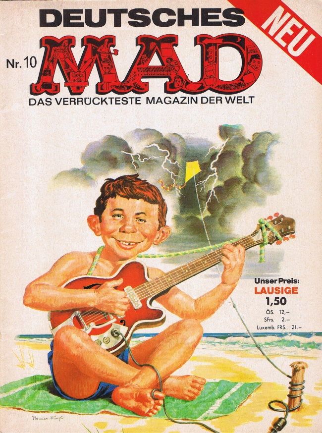 MAD Magazine #10 • Germany • 1st Edition - Williams