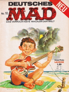 Go to MAD Magazine #10 • Germany • 1st Edition - Williams