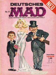 Go to MAD Magazine #11 • Germany • 1st Edition - Williams