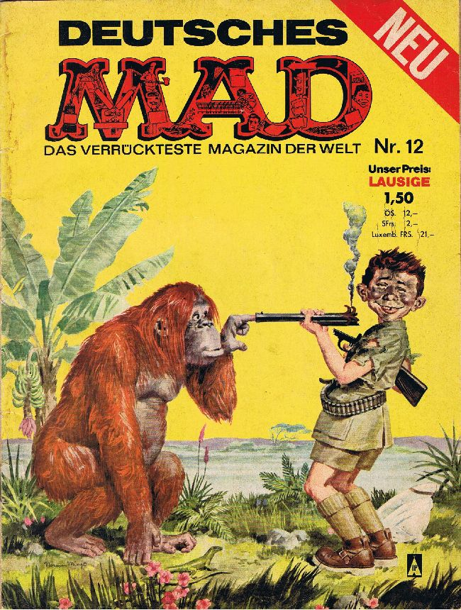 MAD Magazine #12 • Germany • 1st Edition - Williams