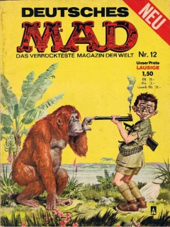 Go to MAD Magazine #12 • Germany • 1st Edition - Williams