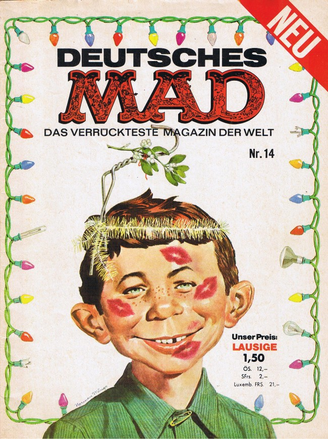 MAD Magazine #14 • Germany • 1st Edition - Williams