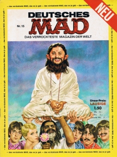 Go to MAD Magazine #15 • Germany • 1st Edition - Williams