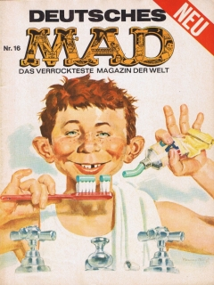 Go to MAD Magazine #16 • Germany • 1st Edition - Williams
