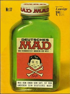 Go to MAD Magazine #17 • Germany • 1st Edition - Williams