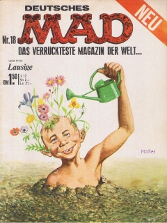 Go to MAD Magazine #18 • Germany • 1st Edition - Williams