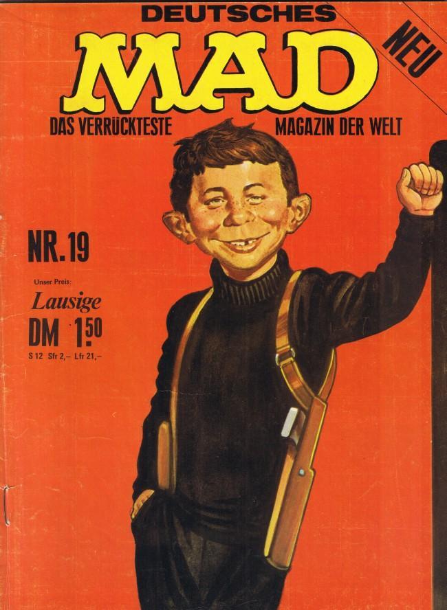 MAD Magazine #19 • Germany • 1st Edition - Williams