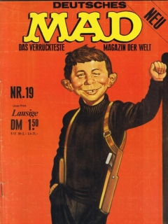 Go to MAD Magazine #19 • Germany • 1st Edition - Williams