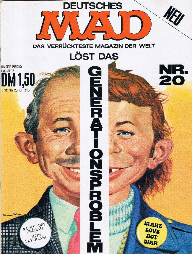 MAD Magazine #20 • Germany • 1st Edition - Williams