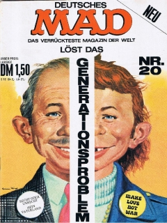 Go to MAD Magazine #20 • Germany • 1st Edition - Williams