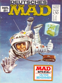 Go to MAD Magazine #21 • Germany • 1st Edition - Williams