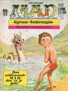 Go to MAD Magazine #22 • Germany • 1st Edition - Williams