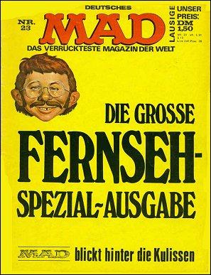 MAD Magazine #23 • Germany • 1st Edition - Williams