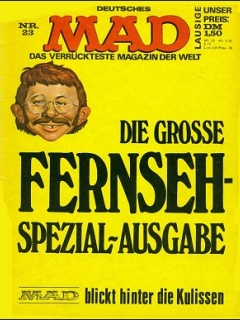 Go to MAD Magazine #23 • Germany • 1st Edition - Williams