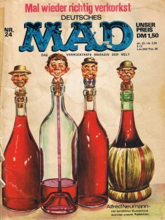 Go to MAD Magazine #24 • Germany • 1st Edition - Williams