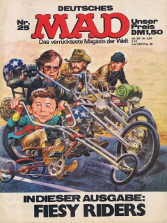 Go to MAD Magazine #25 • Germany • 1st Edition - Williams