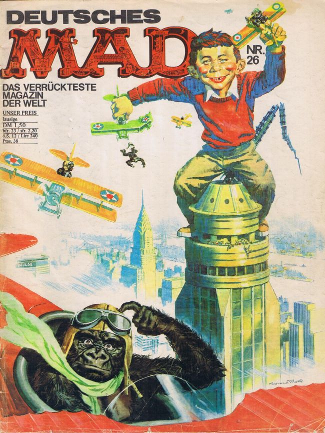 MAD Magazine #26 • Germany • 1st Edition - Williams