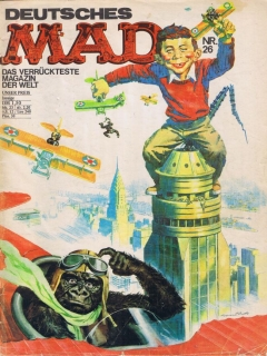 Go to MAD Magazine #26 • Germany • 1st Edition - Williams
